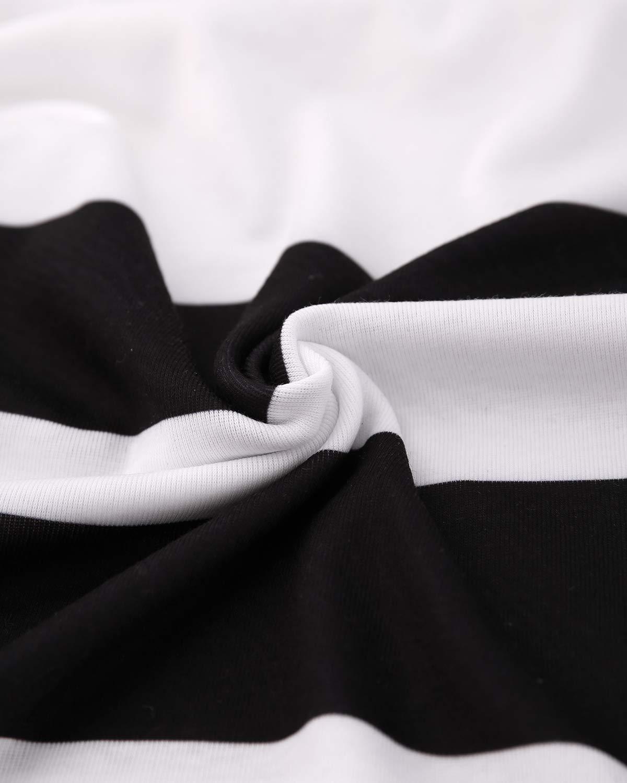 CNFIO damskjorta blus tunika överdelar långa ärmar färgblock lös långärmad tröja toppar B-svart