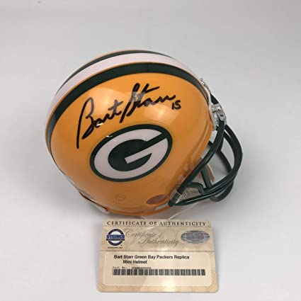 buy online 4ae3f a878f Amazon.com: Autographed/Signed Bart Starr Green Bay Packers ...