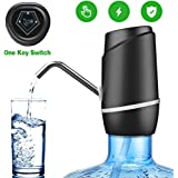 5 Gallon Water Dispenser,Electric Drinking Water Pump Portable Water Dispenser Universal USB Charging Water Bottle Pump…