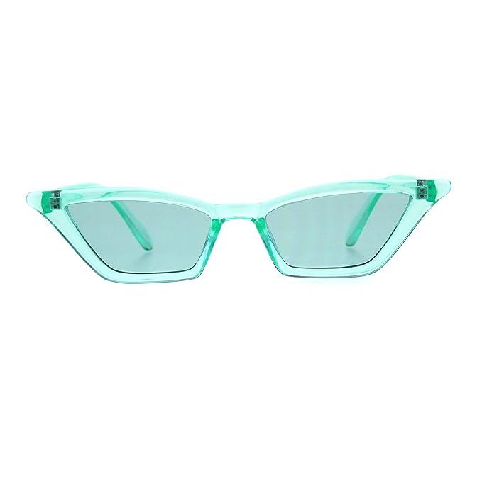 Amazon.com: Gafas de sol de plástico para mujer con ojo de ...