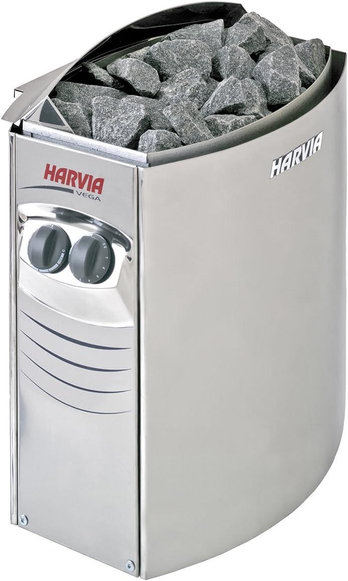 Harvia SN-HARVIA-PO80 Poolstar - Estufa eléctrica para sauna a vapor (8 kW)