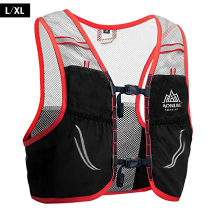 AONIJIE Trail Running Vest Backpack Lightweight Breathable Cycling Marathon Ultralight Hiking Sport Bag 2.5L with