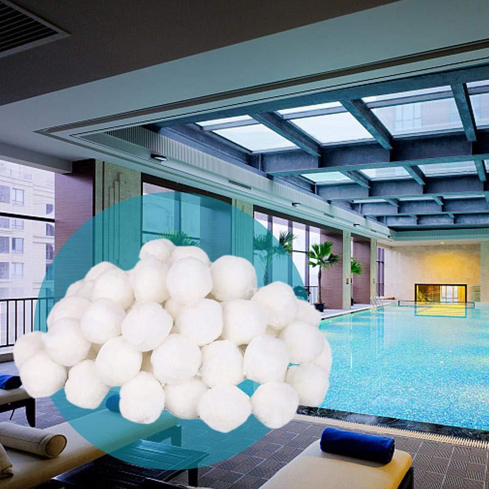 Quiet.T Filter Balls 200g Filtermaterial f/ür Poolpumpe,rsetzen 7 kg Filtersand f/ür Pool Sandfilter