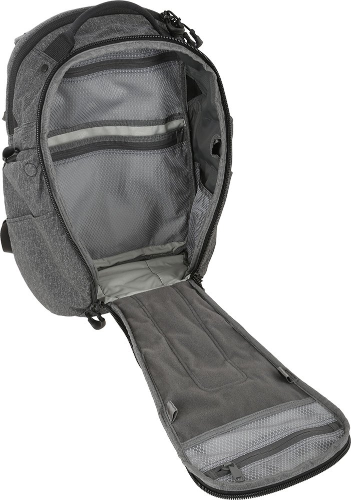 Maxpedition Gear Entity 23 CCW-Enabled Laptop Backpack 23L for Covert Concealed Carry, Charcoal by Maxpedition (Image #4)