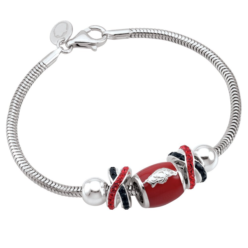 Persona Sterling Silver University of Arkansas Beads and Charms