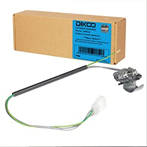 DIKOO - 3949238 Washer Door Lid Switch for Whirlpool, Kenmore Washers Replaces WP3949238, AP3100001, PS11742021, WP3949238VP