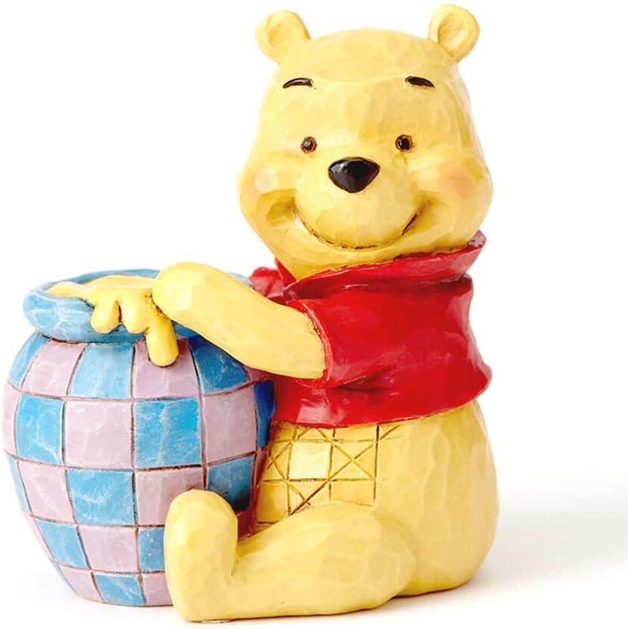 "Enesco Disney Traditions by Jim Shore Winnie The Pooh Miniature Figurine, 2.75"", Multicolor"