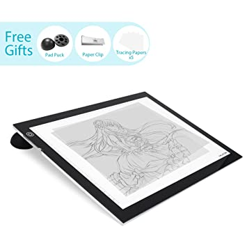 Huion 23.5 Inch LED Light Box Tracer Photography ArtCraft Light Table For  Drawing   A3 W
