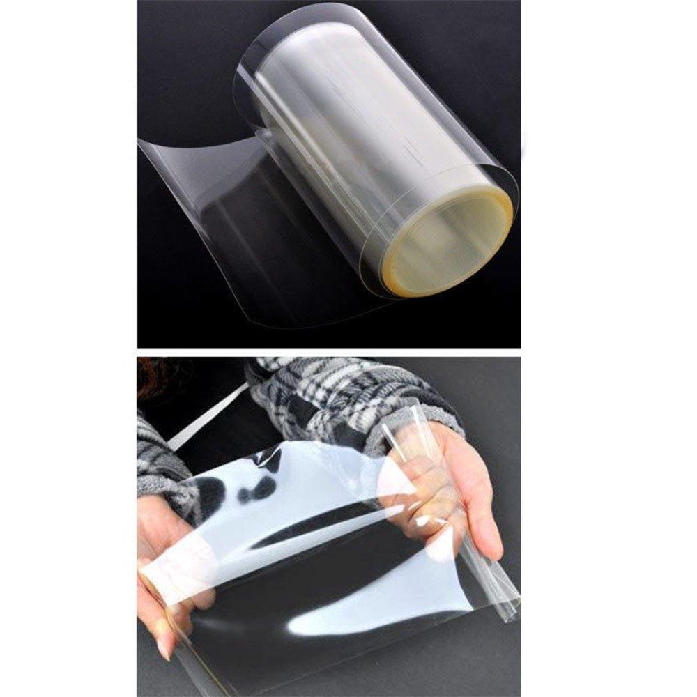 Hoho 15 cmx600 cmボディペイント保護フィルムステッカーペイントハンドルバンパーフード保護用クリア保護フィルム車ラップビニール B0796QQC8Q
