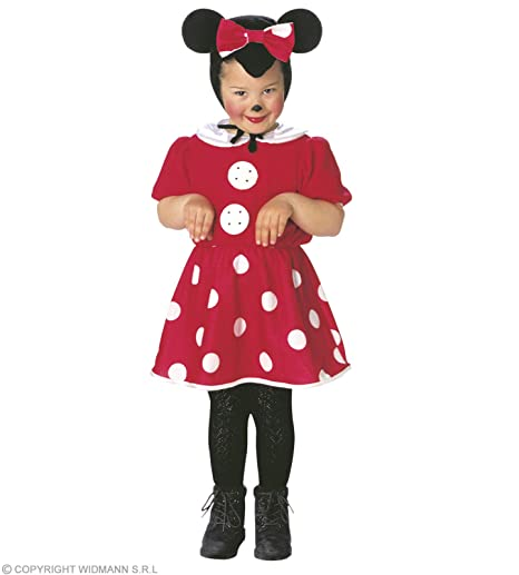 ab368db15677 Costume Bambina Topina Taglia 104 cm / 110 cm (2/4 Anni): Amazon.it ...