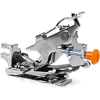 Generic Household Sewing Machine Pleating Ruffler Gather Zipper Presser Foot-15012489MG - Silver