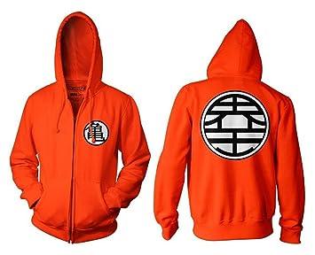 1 x caja para hombre joven deportivo para disfraz de chaqueta de Dragon Ball Z Son Goku Cosplay sudadera con capucha: Amazon.es: Juguetes y juegos