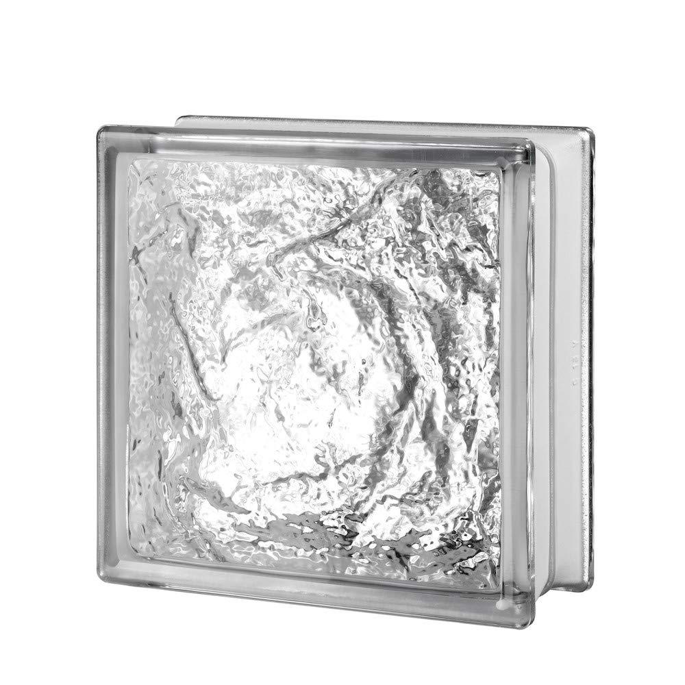 8x8x3 Ice Glass Block by Generic