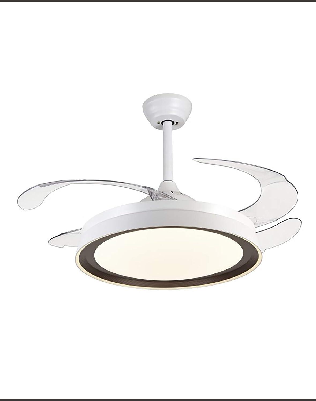 Ventilador de techo con LED 36W ANKARA Narvi color Blanco y Café con mando a distancia