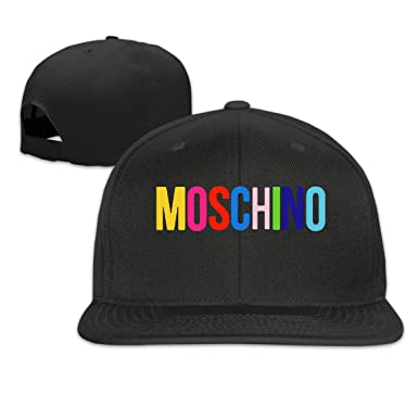 eb8fdc2e4 Mens Baseball Cap-Moschino Inspired 1210 Trucker Hat for Men Women,Classic  Minimalist Snapback