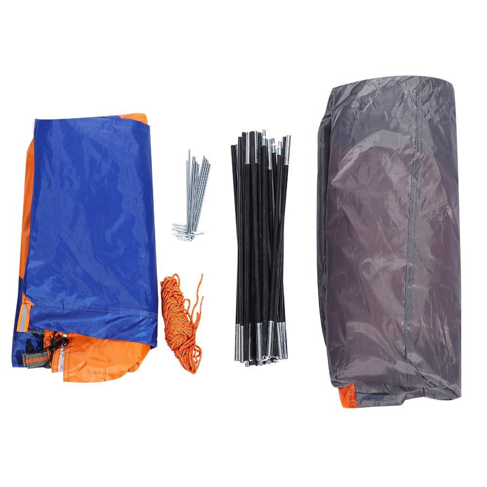 Outdoor Zelt 5-8 Personen, Hexagon Wasserdicht UV Schutz Zelt für Camping Angeln Klettern Wandern