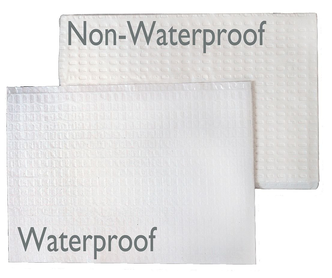 Waterproof White Foundations sanitary Disposable Baby Changing Station Liners