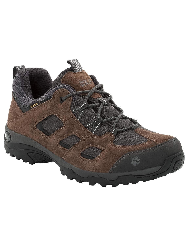(Dark bois 5690) 42 EU Jack Wolfskin Vojo Hike 2 Texapore Faible M imperméable, Chaussures de Randonnée Basses Homme