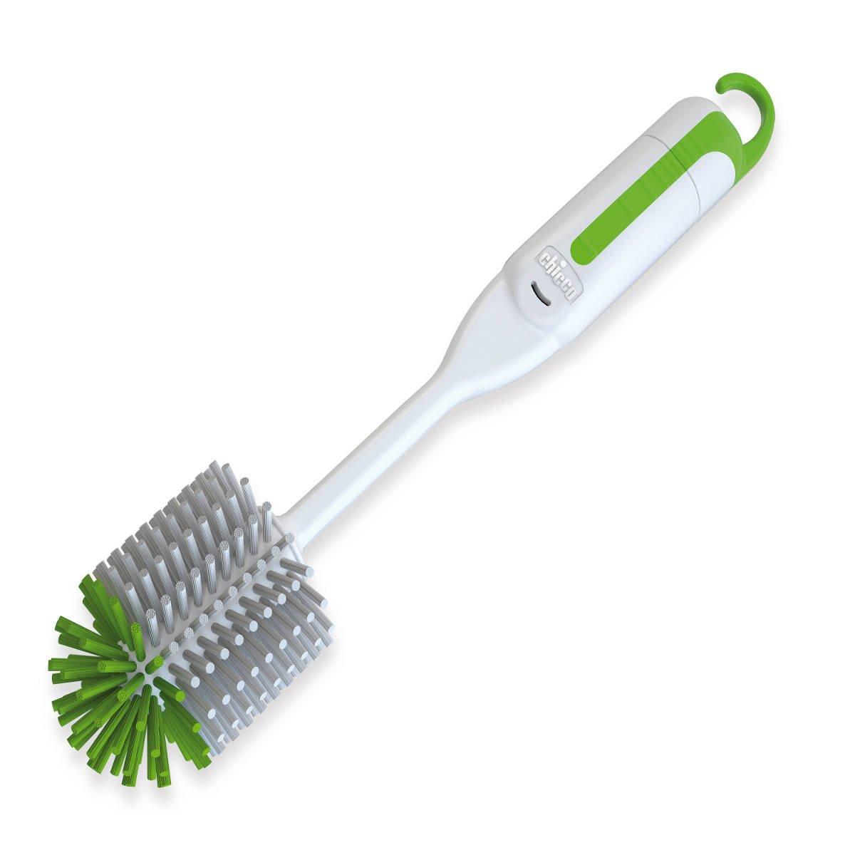 Chicco - Escobilla 2 en 1 para limpiar biberones y accesorios 00069189400000