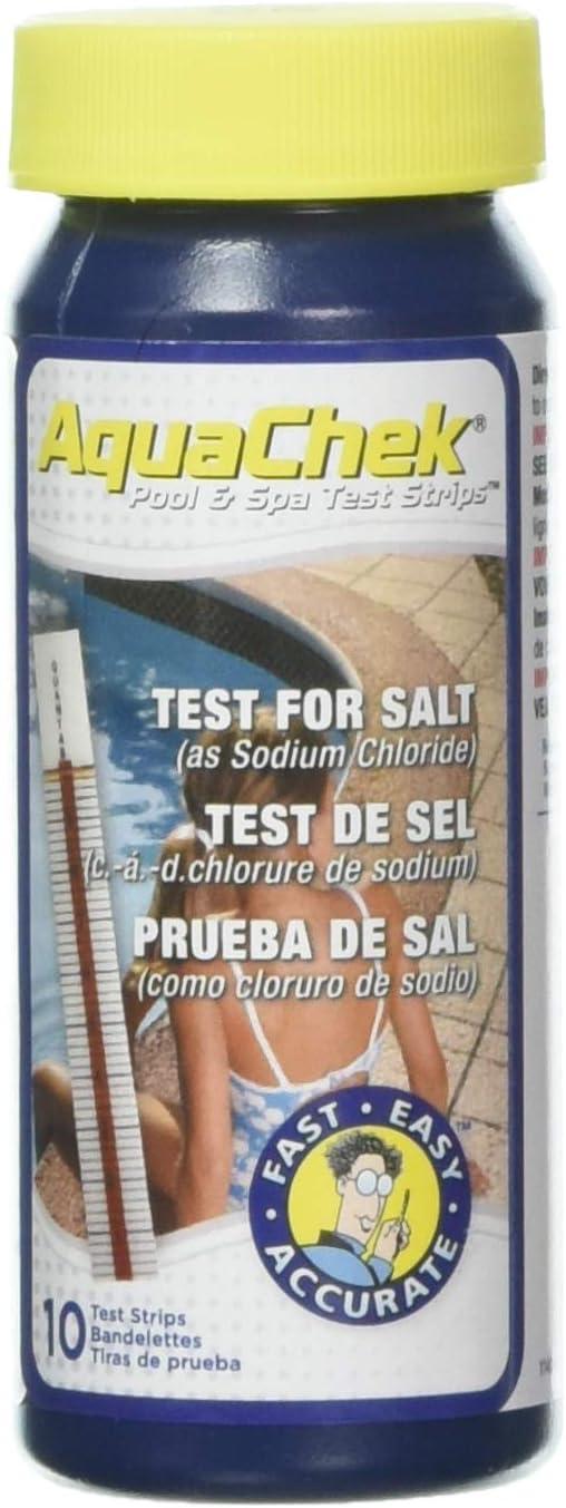 Aquachek 561140 - Test salinidad ,10 lengüetas