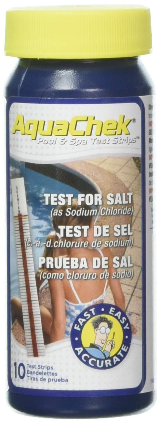 Accept. The pool check salt test strips can