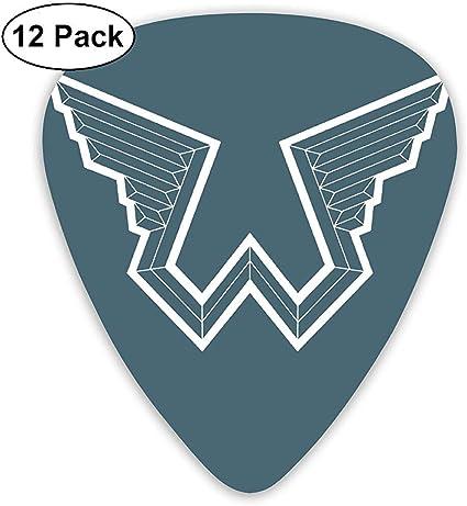Paul Mccartney Wings Púas de guitarra eléctrica (paquete de 12 ...