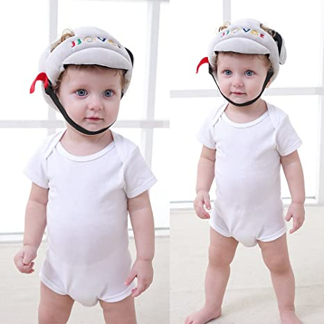 Protector de cabeza para bebé, casco de bebé ajustable, casco para ...