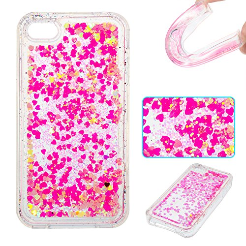 EC-Touch Fashion Style Colorful Painted Design [Ultra Slim][Perfect Fit][Scratch Resistant] Soft Case Back Cover Protector Skin For Apple Iphone series (4S, Pink)