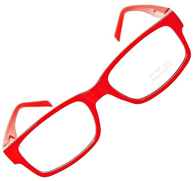 wo kann ich kaufen tolle Passform Online gehen Nerd-Brille ohne Sehstärke Slim Fit Geek-Brille schmal Party ...