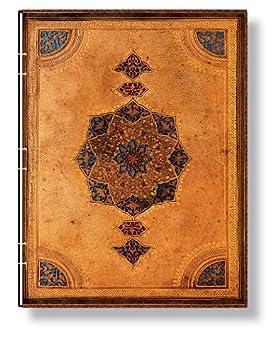 Safawidische Bindekunst - Notizbuch Groß Kopertenheftung Liniert - Paperblanks