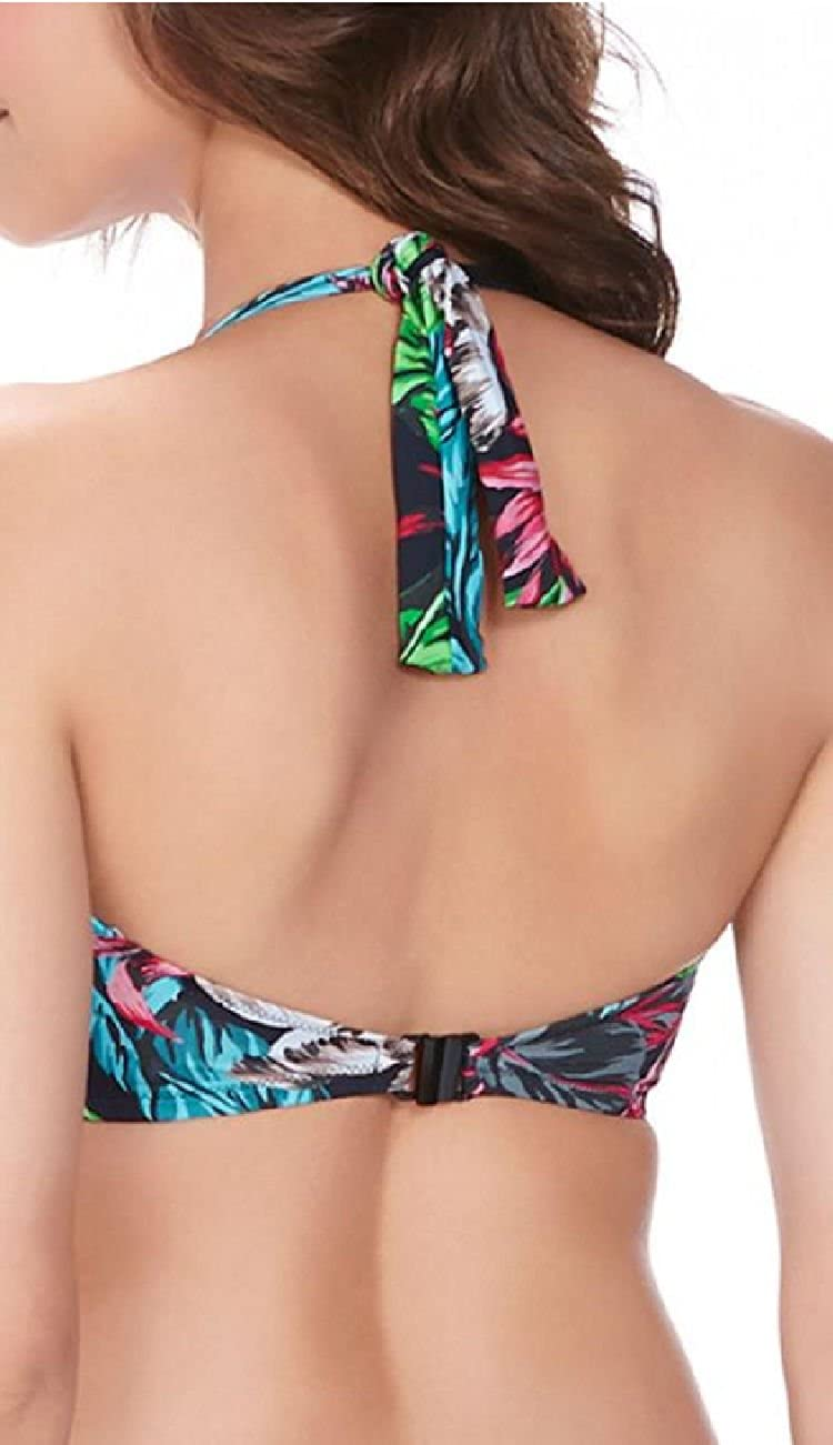 Swimsuit Fantasie Bandeau Twist Mahe Multicolore