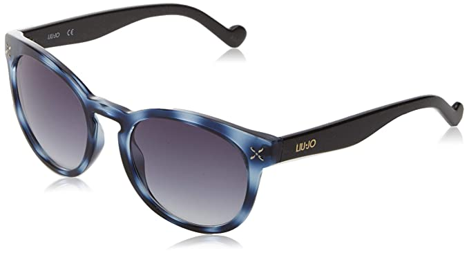Liu Jo LJ618S 419 52, Gafas de Sol para Mujer, Blue Tortoise ...
