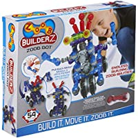 54-Piece Zoob BuilderZ Zoob Bot Building Modeling System