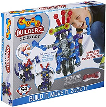 54-Piece Zoob BuilderZ Zoob Bot Building Modeling System