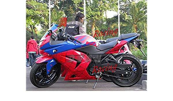 Amazon.com: Moto Onfire ABS Injection Aftermarket Fairing ...