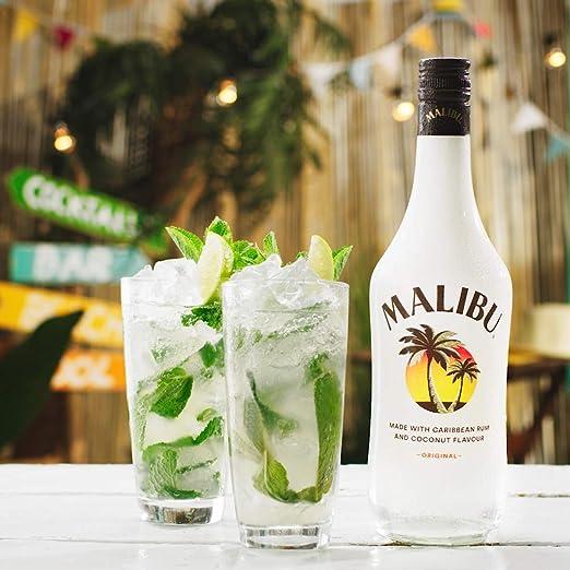 Malibu Piña - pack 3 x 700 ml : 2100 ml: Amazon.es ...