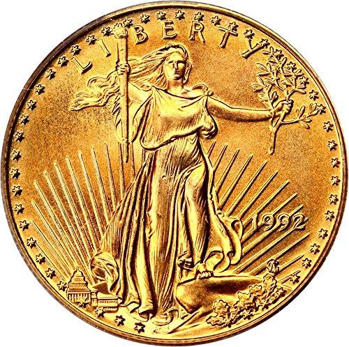 1992 P $25 Gold Eagles Gold Eagle Twenty Five Dollar MS69 PCGS