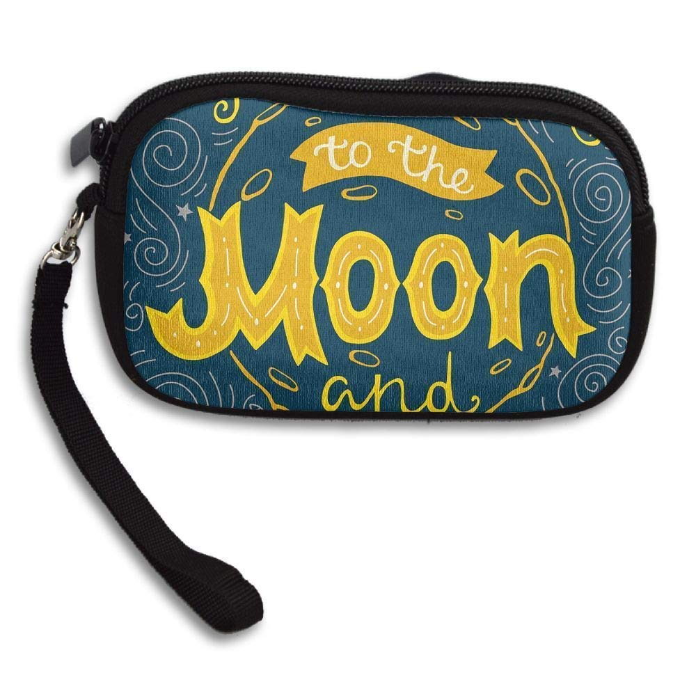 I Love You to The Moon and Back Portable Washable Wristlets ...