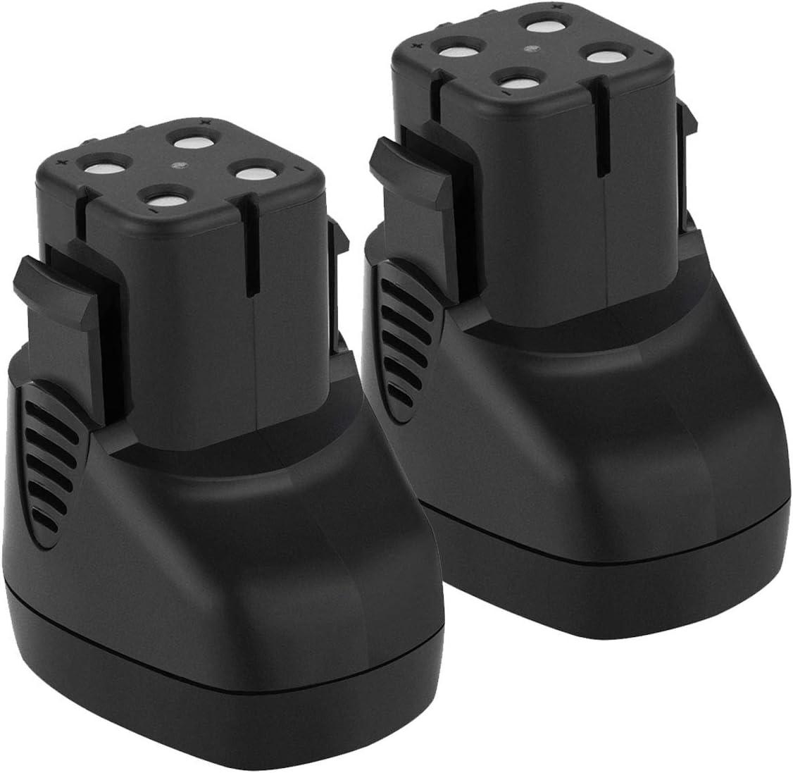Shentec 2-Pack 3500mAh 7.2V High Capacity Replacement Battery Compatible with Dremel 757-01 Dremel 7700-01 Dremel 7700-02, 7.2V Battery (Ni-MH)