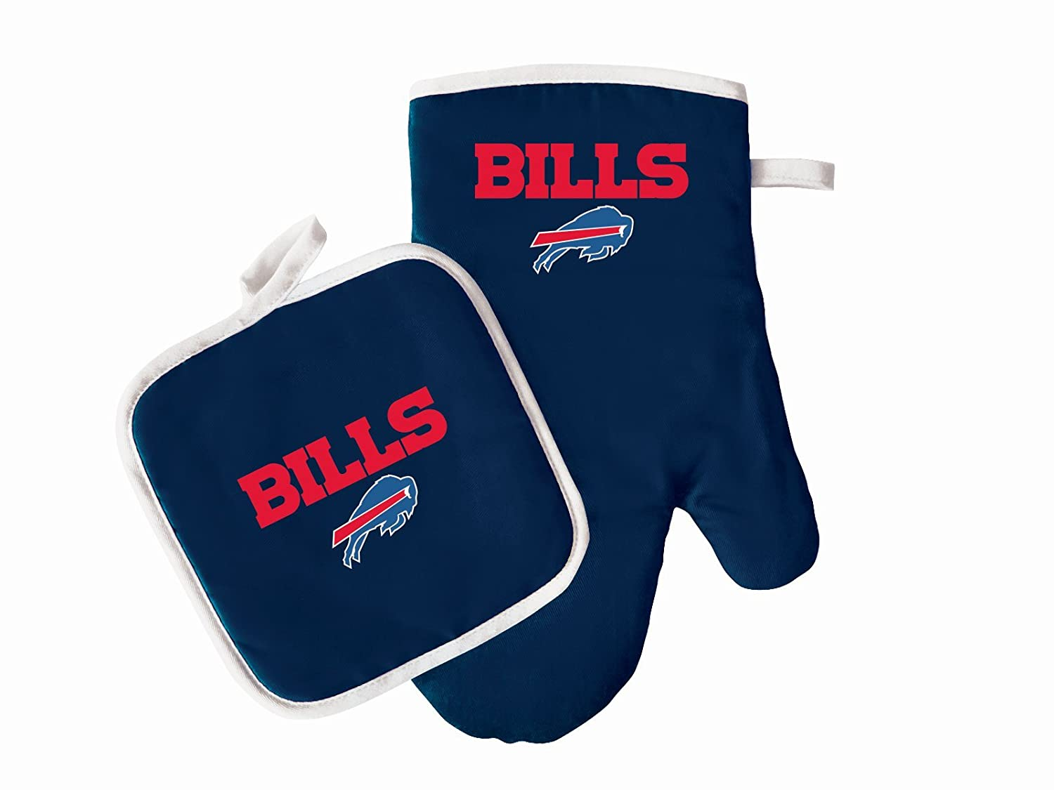 PSG Products Buffalo Bills Oven Mitt & Pot Holder Set Cooking Grilling Barbecue NFL Football