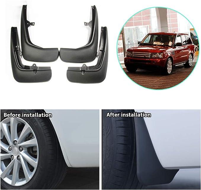 Qwldmj Garde-Boue pour Range Rover Sport L320 2005-2010 2011 2012 2013 Garde-Boue Garde-Boue Garde-Boue Accessoires