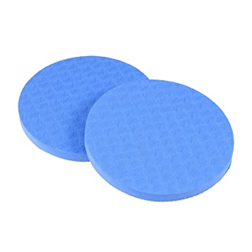 VORCOOL Yoga Knee Pad Pilates Workout Soporte Mat para Hands Wrists Knees Coderas Pack de 2 (Azul)