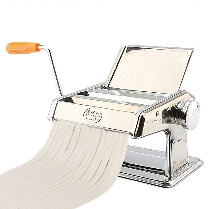 Oberfl/äche Verzinkt 3 in 1 Pastamaker Edelstahl Nudel Maschine Lasagne Spaghetti Manuelle Pastamaschine Nudelmaschine