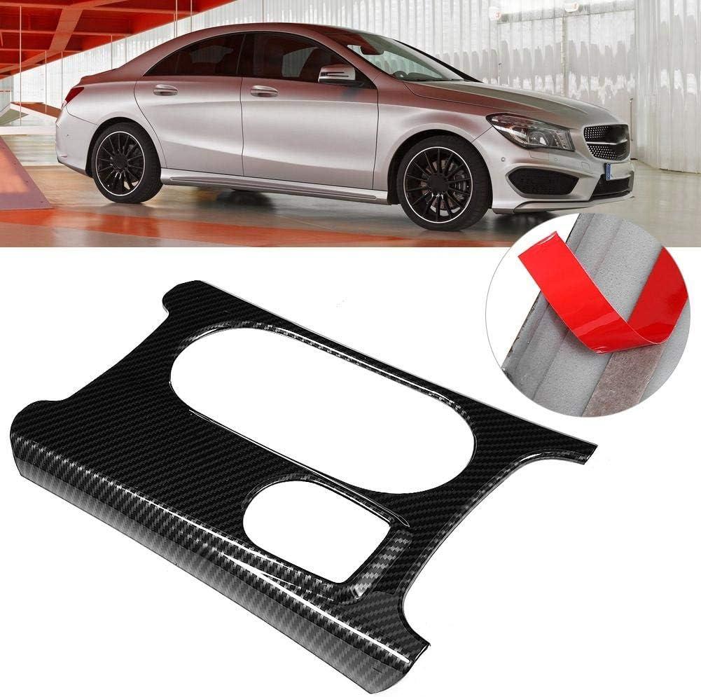 Cubierta del panel del portavasos, Grano de fibra de carbono ABS ...