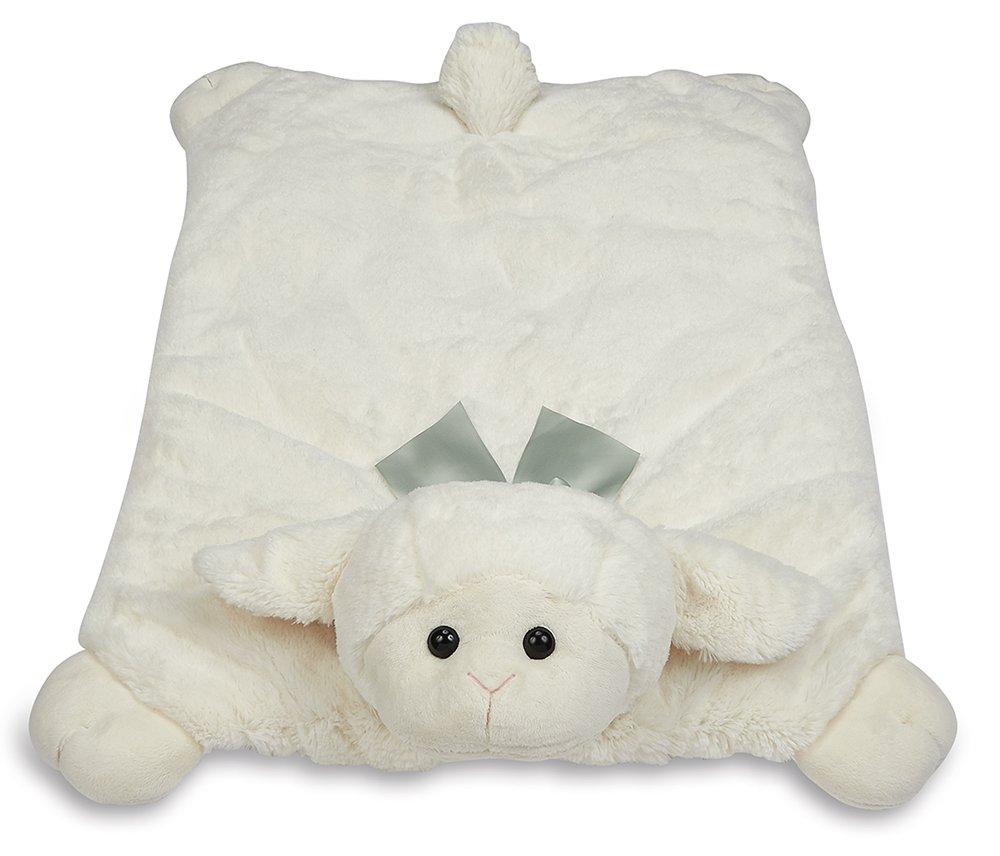 Amazon Com Bearington Baby Lamby Snuggler White Lamb