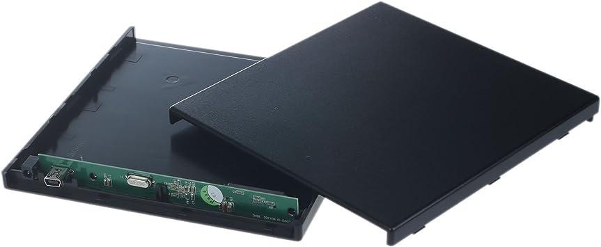 Kamenda - Carcasa Externa para portátil (USB a IDE, CD, DVD, RW, ROM): Amazon.es: Electrónica