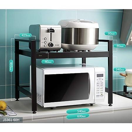 Aluminio Estantería Microondas Encimera, Cocina ...