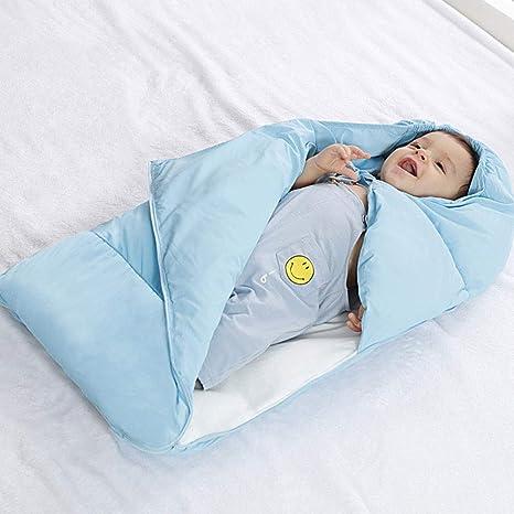 New_Soul Saco de Dormir a Prueba de Patadas para Cochecito de Bebé Comodidad Para Invierno Cálido