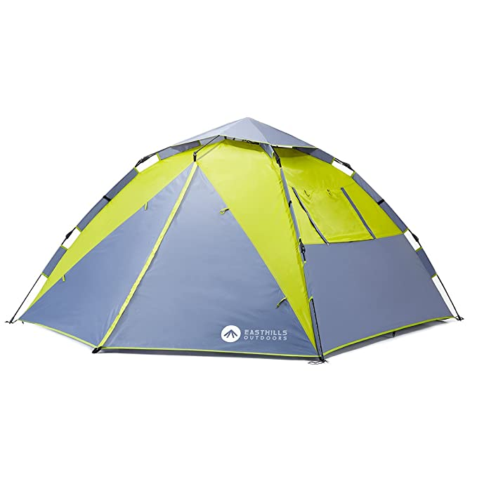 Easthills Outdoors 3-Person Instant Tent Waterproof 3 Season Family Camping Tent - with Rain Fly