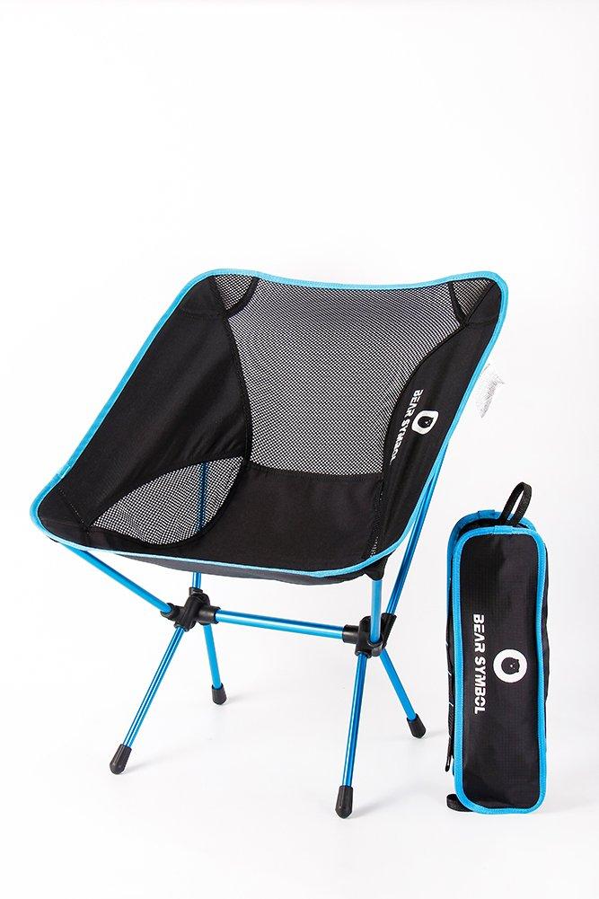1bbc3d6bfa5e 30%OFF Portable Folding Camping Chair Moon Backpack Lightweight ...